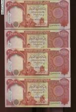 100,000 NEW IRAQI DINAR UNCIRCULATED CURRENCY 4 x 25,000 IQD