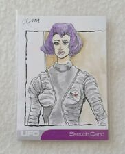 Unstoppable Cards UFO Series 2 Sketch Card by Artist Clinton Yeager