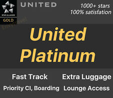 United Platinum Star Alliance Gold Air Canada Turkish Airline Lufthansa Swiss