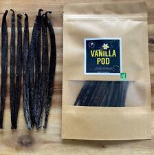 Gourmet Tahiti Vanille 18-22 cm Premium Qualität 50g  Bio  Vanilleschoten