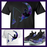1307bf05508 Nike Air Foamposite One Alternate Galaxy Big Bang Box Matching Shirt ...