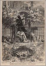 1879 : ILLUSTRATION / GRAVURE : RELIGION SAINT BRUNO CHARTREUX  par Yan' DARGENT