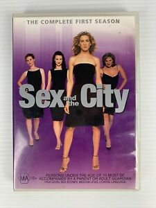 Sex and the City: The Complete First Season DVD TV Series 1 FREE TRACKED POST