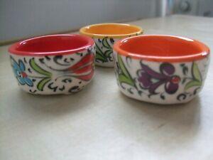 3 x Small Trinket Dishes