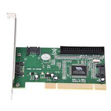 4 porte SATA PCI Scheda di espansione & IDE VIA VT6421a chipset  D2V1 Y4V3