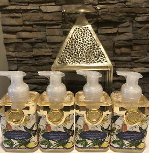 Michel Design lot of 4 Shea Foam Soap Hummingbird Scent Is Wild Orchids New