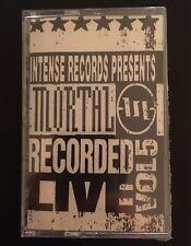 Mortal Intense Live Series Vol. 5 Cassette 1993 RARE Christian Industrial Metal