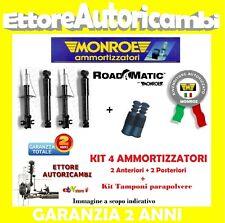 4 AMMORTIZZATORI MONROE FIAT CINQUECENTO (170)91>99 500 +KIT TAMPONI PARAPOLVERE