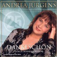 """ANDREA JÜRGENS """"DANKESCHÖN ZUM 25. ...."""" CD NEUWARE!!!!"""