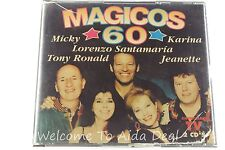 Magicos 60 by Micky, Tony Ronald, Karina, Lorenzo Santamaría and Jeanette CD