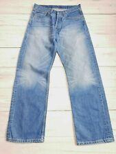 Mens Levis 508 Straight Leg Jeans Blue W30 L32    #PS35