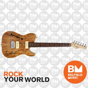 Michael Kelly 1950s Series 59 Thinline Electric Guitar Spalted Maple