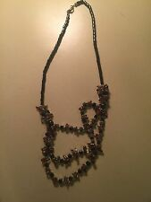 Hematite Necklace. Brown. Multi Strand. Helps Blood Flow And Arthritis
