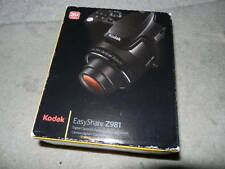 open no battery Kodak EASYSHARE Z981 14.0 MP Digital Camera Black Easy Share 981