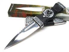 """NEW 7"""" Small Scottish Sgian Dubh Dirk Dagger Knife - Letter Opener"""