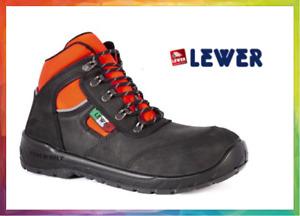 Lewer scarpa da lavoro antinfortunistica Croce Rossa Pronto Soccorso 118 S3