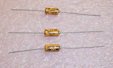 QTY (50) 1uf 100V 85' AXIAL ALUMINUM ELECTROLYTIC 80049-100-1M000Q SIEMENS