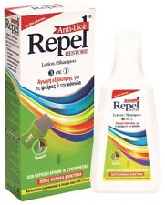 REPEL RESTORE SET ANTI-LICE TREATMENT SCHOOL KIDS SHAMPOO/ LOTION + COMB