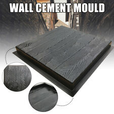 Wooden Grain Cement Mould DIY Concrete Paving Stone Path Mold Garden Stepping