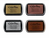 COLORBOX Pigment Metallic Ink Pads - CHOOSE ONE!! NEW in Shrink Wrap