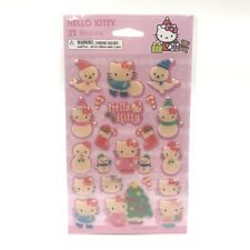 Hello Kitty Stickers 21 Christmas Winter American Greetings