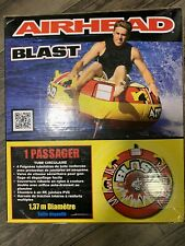 Airhead Blast | 1 Rider Towable Tube for Boating 54�