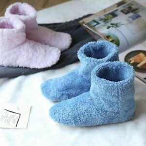 Flat Indoor Shoes For Girls Winter Warm Slippers Non-slip Comfortable Footwear