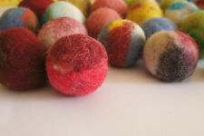 Cat Toy,10 Felted Wool Balls. Handmade From Ecological sheep Wool  3-4 cm