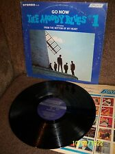 MOODY BLUES Go Now #1 1965 London LP PS 428 EXC- w/sleeve