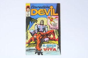 L'INCREDIBILE DEVIL EDITORIALE CORNO N° 32 ANNO 1971 [EH-032]