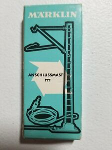 VINTAGE Marklin HO #7512 Anschlussmast (Connector Mast)--NEW OLD STOCK