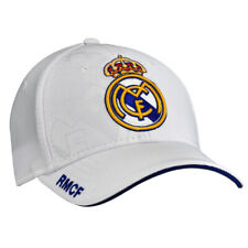 ac8b6475a7e Official Real Madrid Football Club White Baseball Cap Hat Club Crest