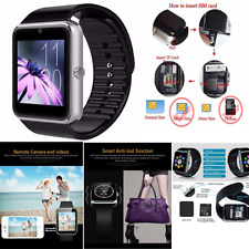 Smartwatch Unlocked Watch Cell Phone for iPhone Android Samsung Bluetooth NEW