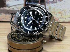 Seiko 5 FFF automatic watch black fifty five 55 fathoms MOD WARRANTY SNZH55