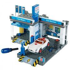 Klein Bosch Autowerkstatt Werkstatt mit Waschstraße Auto Spielzeug