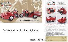 Boss Hoss Trike Prospekt GB 2000 Trikeprospekt Broschüre brochure broschyr