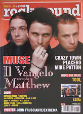 ROCK SOUND 38 2001 Muse Estra Crazy Town Placebo Mike Patton Depeche Mode Mogwai