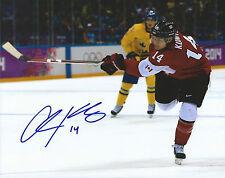**GFA Team Canada *CHRIS KUNITZ* Signed 8x10 Photo MH3 COA**