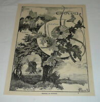 1894 magazine engraving ~ ORFORD, IN SUFFOLK, England