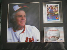 "H.O.F.   EARL WEAVER ""TOON ART""  MATTED    LIMITED EDITION    11 X 14    2003"