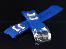 New Genuine OEM Invicta 26mm BLUE Rubber Strap, SS Buckle For Russian Diver