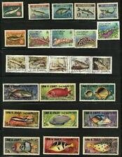 """COLLECTION OF """"FISH """" STAMP **MNH,"""