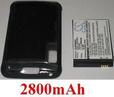 Coque + Batterie 2800mAh type BH6X SNN5880 SNN5880A Pour Motorola Atrix 4G