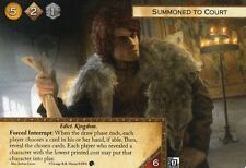 Game of Thrones Card  Summoned to Court x1 FANTASY FLIGHT GAMES FFG Promo LCG