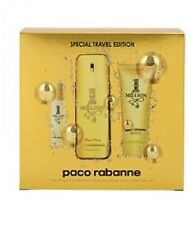 PACO RABANNE 1 MILLION 100ML 3PC SET MENS EDT FRAGRANCE SP NEW I/B 100% GENUINE