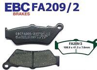 EBC Bremsbeläge Bremsklötze FA209/2 VORN KTM 690 R Enduro 09-10