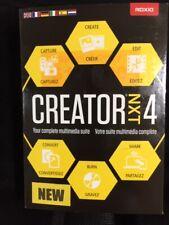 ROXIO CREATOR NXT 4 Windows 7/8/10 BRAND NEW SEALED IN BOX