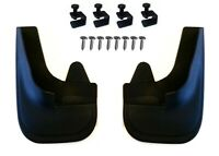 2 x  4x4 Moulded Universal Fit Mud Flap Mudflaps + Fittings for BMW Models