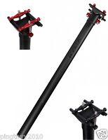 Hylix Carbon Seatpost-33.9MM*590MM-235g-Ultra Light-Fit Dahon-Fit 7*9 Rails