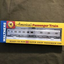 Walthers RTR HO Santa Fe Super Chief Budd 10-6 Sleep Pine Series (B)